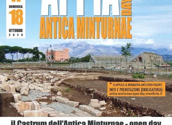 Open day degli scavi archeologici nell'area del Castrum dell'antica Minturnae