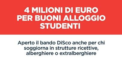 Regione Lazio: aperto il bando per i buoni alloggi per gli studenti universitari