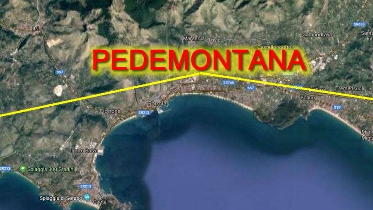 La trasversale Lazio Sud – adriatica utile e non può prescindere dalla Pedementana di Formia