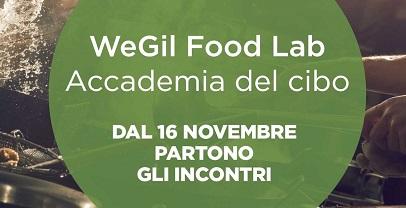 Al via incontri Wegil Food Lab-Accademia del cibo