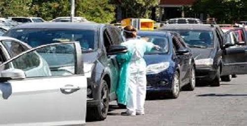 CORONAVIRUS: PRENOTAZIONE DRIVE-IN ANCHE TRAMITE APP SALUTELAZIO
