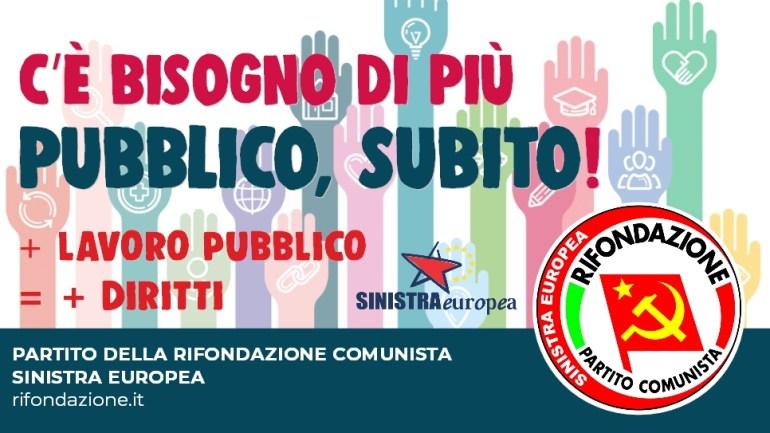 Fabbri/Bizzoni (Prc -Se Regione Lazio). Alitalia: rifiutiamo il piano industriale