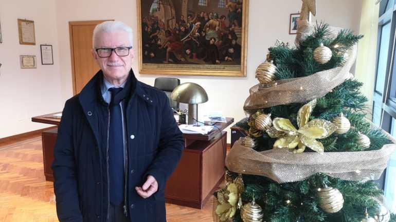 Natale 2020. Gli auguri del sindaco di Fondi Beniamino Maschietto