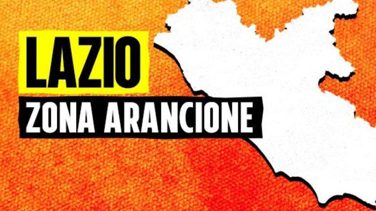 Lazio in ZONA ARANCIONE dal 17 Gennaio