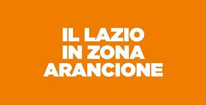 Lazio, in Zona Arancione dal 30 marzo