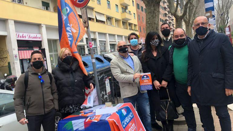 """Roma, Palozzi:""""Bene banchetti Cambiamo"""""""