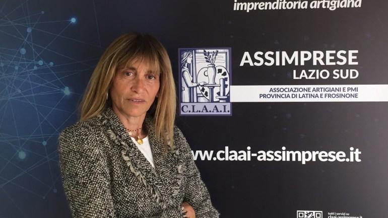 """Simona Loffredo nuova Presidente Imprenditoria Femminile della """"CLAAI Assimprese Lazio Sud"""""""