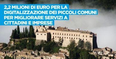 Piccoli comuni: fa giunta Lazio ok a 2 mln per processo digitalizzazione