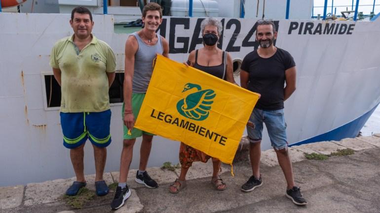 """Terminata la prima fase della """"Pesca del Rifiuto"""", coordinata dal Circolo Legambiente Terracina """"Pisco Montano"""""""