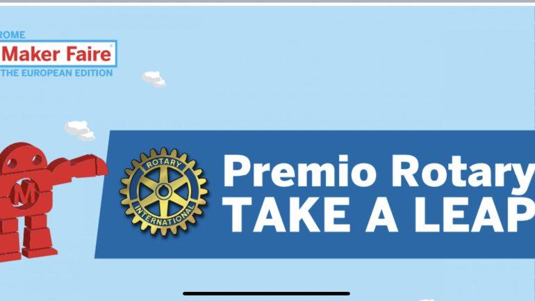 Al Maker Faire Rome consegnati i premi del contest Rotary Take a Leap