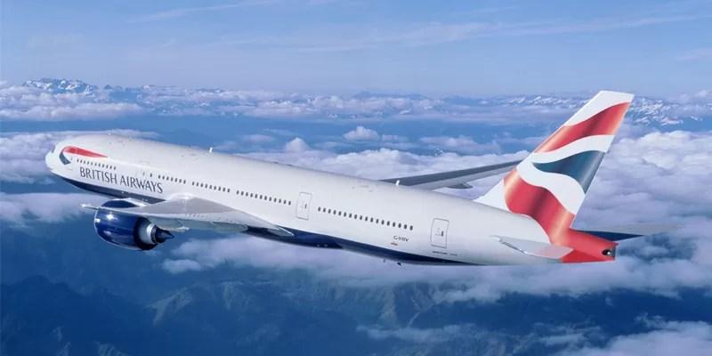 Promocao de Passagens Aéreas British Airways Ano Novo 2015