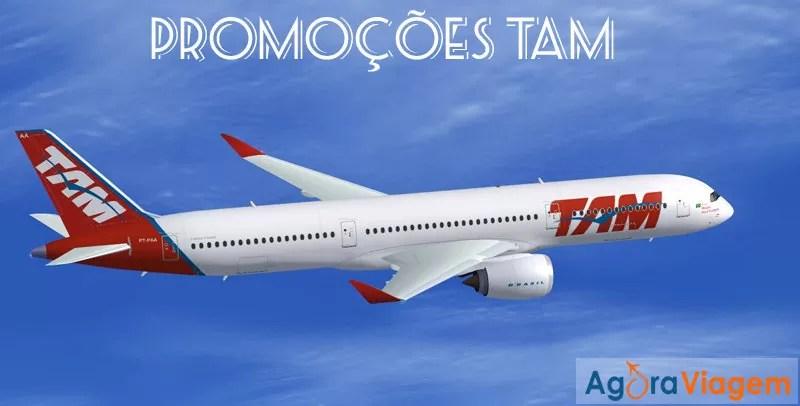 Promoções de passagens aéreas TAM 2015