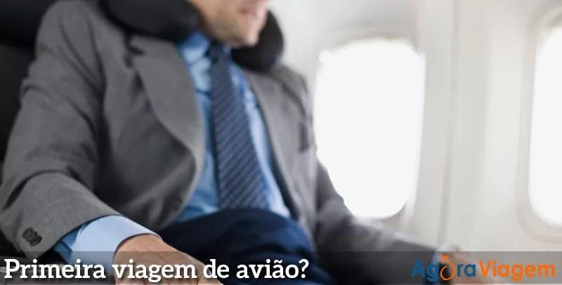 Guia para quem vai viajar pela primeira vez de avião