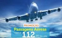 Promoção de passagens aéreas nacionais à partir de R$ 112