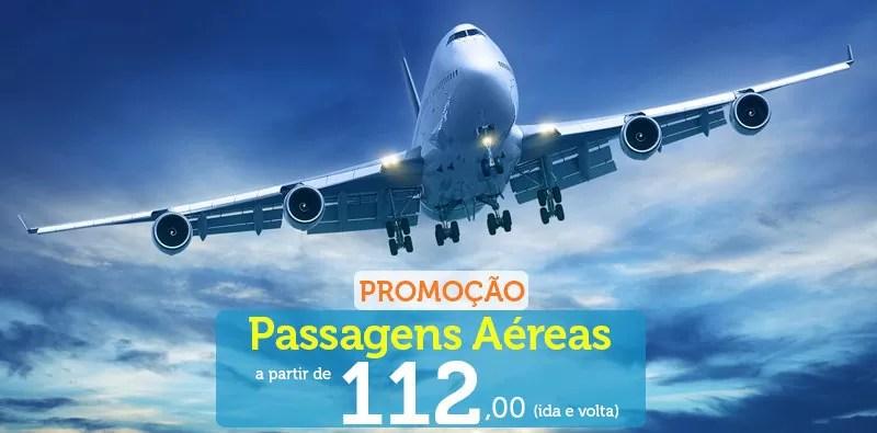 Promoção de passagens nacionais a partir 112