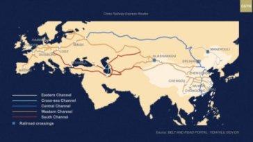 CHINE-EUROPE, le boom passé inaperçu du fret ferroviaire et ses conséquences économiques et géopolitiques