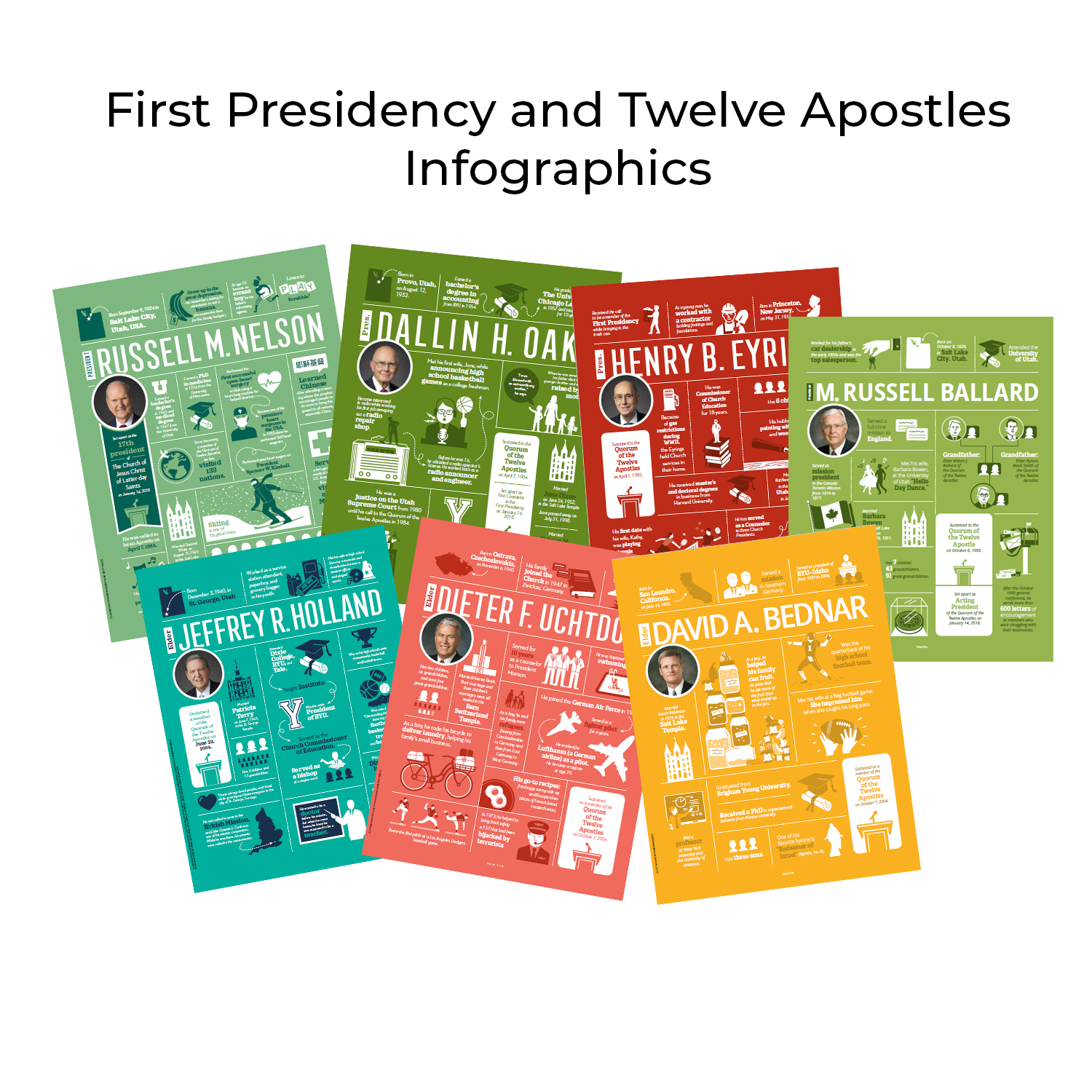 Get To Know The First Presidency And Twelve Apostles
