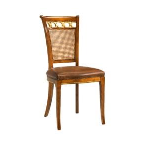 Sedia con Foglia Oro Althea