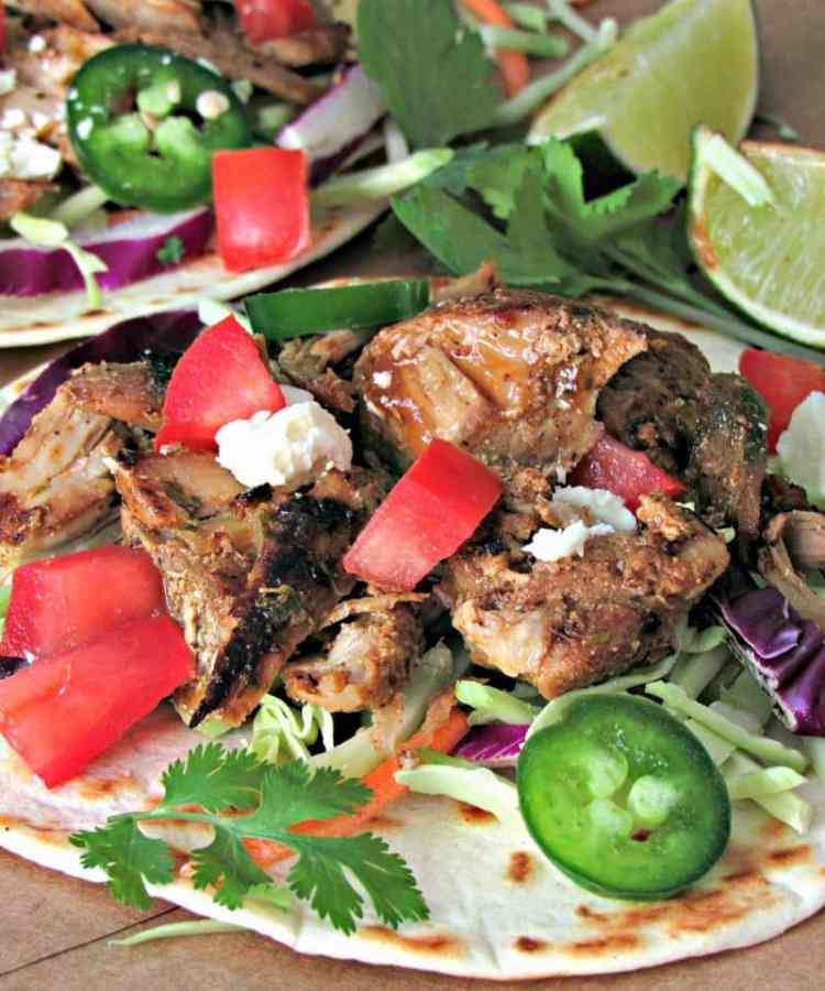 Slow Cooker Pork Carnitas: juicy,tender pork with brown, flavor-packed edges. Enjoy as tacos, burritos, enchiladas or all by itself.