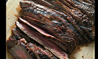 grilled flank stead