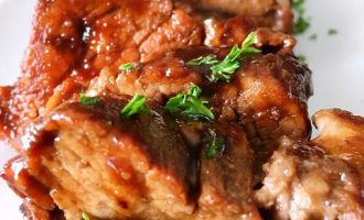honey balsamic pork tenderloin