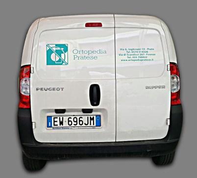 Peugeot Bipper - Praspaziati PVC per Ortopedia Pratese - Retro