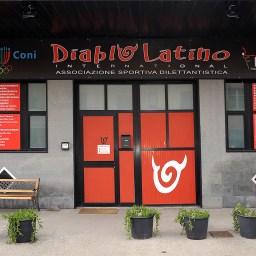 Insegna Diablo Latino international associazione sportiva dilettantistica