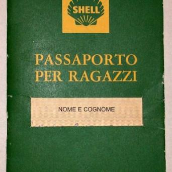 Passaporto per ragazzi della Shell copertina