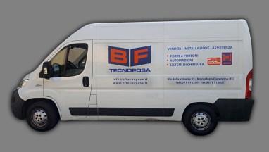 Fiat Ducato - Prespaziati PVC per BF Tecnoposa