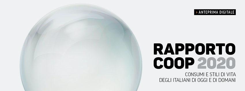 Online l'anteprima digitale del Rapporto Coop 2020