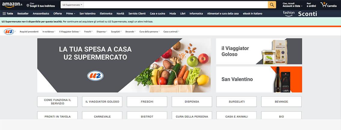 Amazon Fresh arriva a Milano e punta a Roma