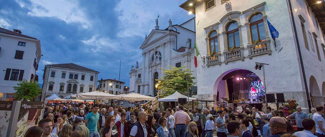Il 28 e il 29 agosto un evento speciale per celebrare il Prosciutto di San Daniele