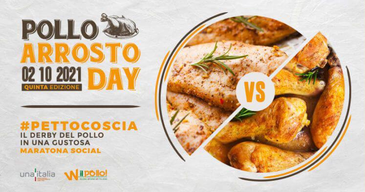 Il 2 ottobre è il Pollo Arrosto Day