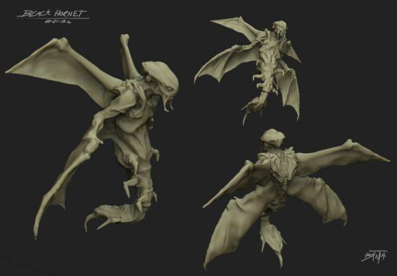 Flying Skitter Concept