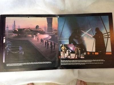 Star Wars TESB Soundtrack booklet