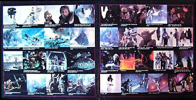Star Wars TESB Soundtrack booklet