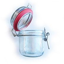 Barattolo in vetro - Chiusura ermetica - Certaldo