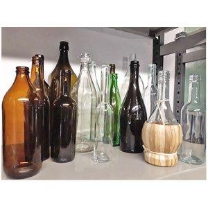 Bottiglie di vetro - Certaldo