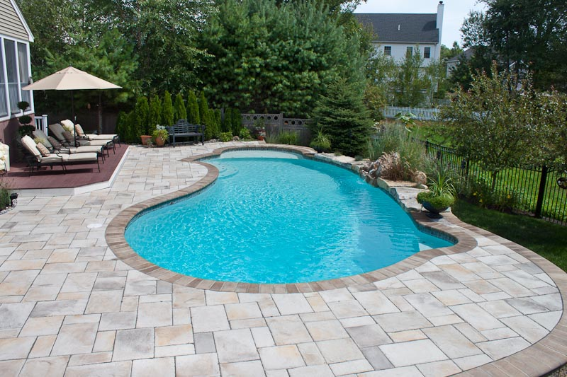 Pool Pavers Deck A Great Scape