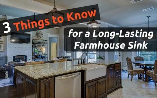 long lasting Farmhouse sink