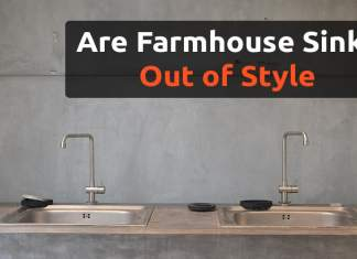 Are farmhouse sinks out of style