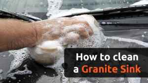 How to Clean a Granite Sink