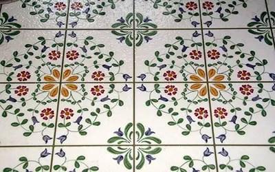 Kitchen floor tile type
