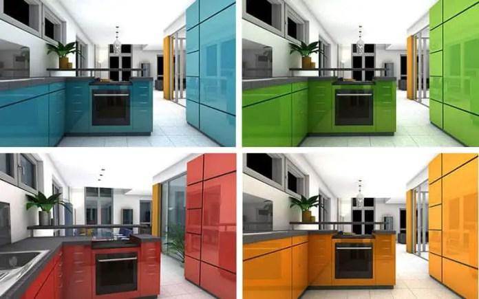 Small kitchen best colours ideas