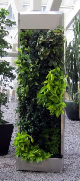free standing vertical wall garden Free-standing Systems | Green Living Technologies