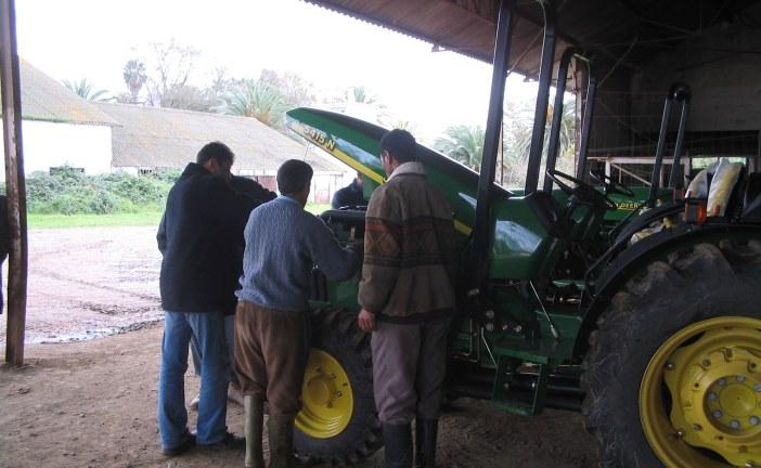 Mécanisation : Amélioration des performances du tracteur