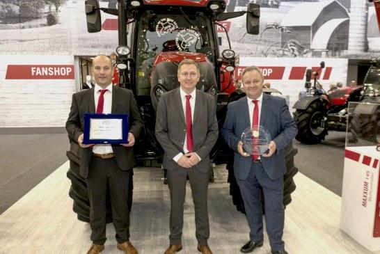 Le Case IH Maxxum 145 Multicontroller  élu « Tracteur de l'année »