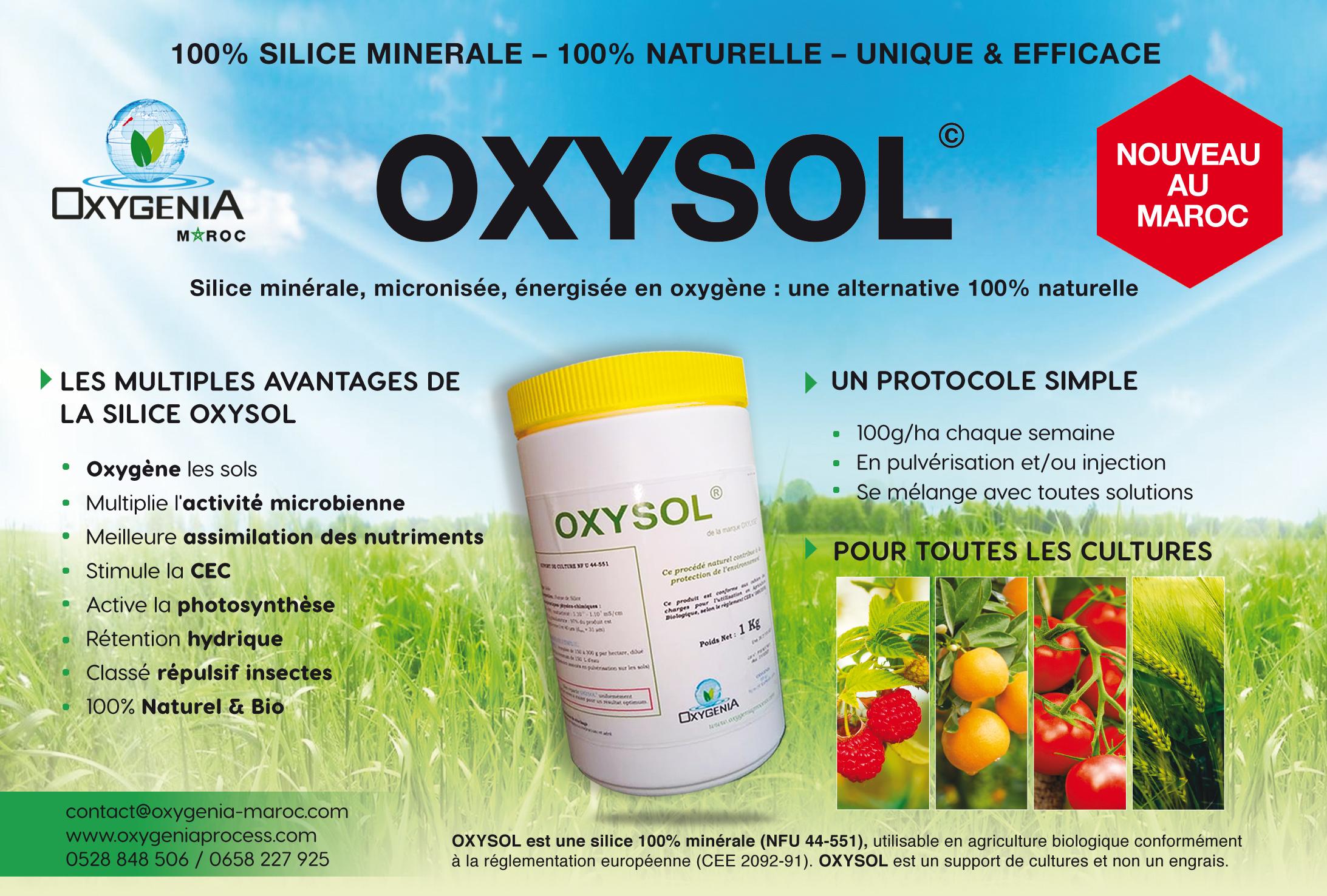 Oxysol : une application bénéfique pour la plante et l'environnement