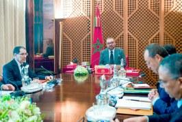 Communiqué du Cabinet Royal  Programme prioritaire national d'approvisionnement en eau potable et d'irrigation 2020–2027