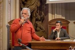 Claudio Pozzi durante il suo intervento